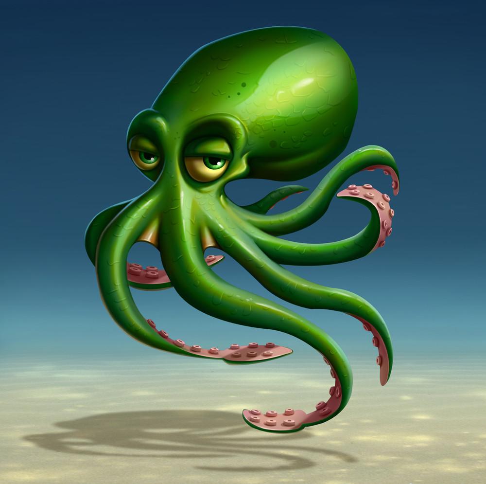 Erkan karagoez octopus 01
