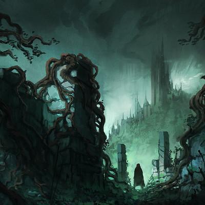 Jorge jacinto dark fantasy ruins ii