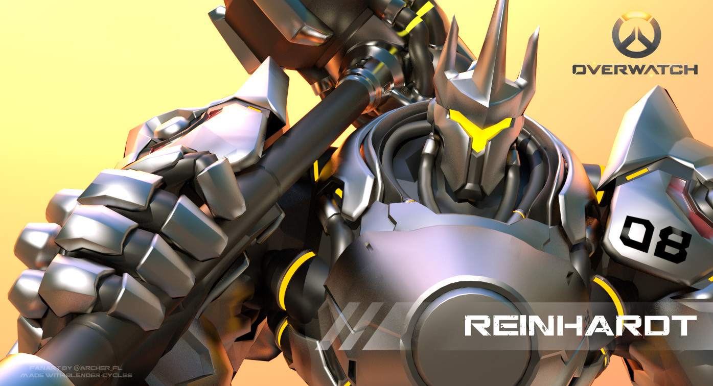 overwatch how to play reinhardt
