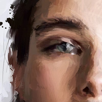 Solo art robinvan eye