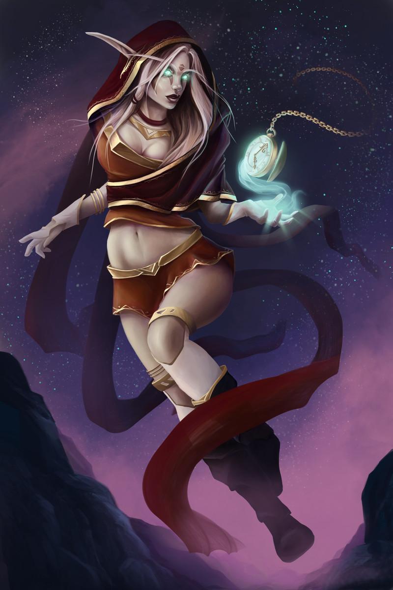 Alina the blood elf erotica image