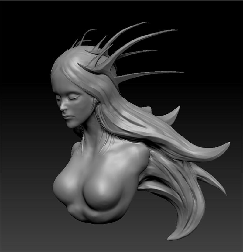 Alexandre chaudret sculpt princess 01stepa