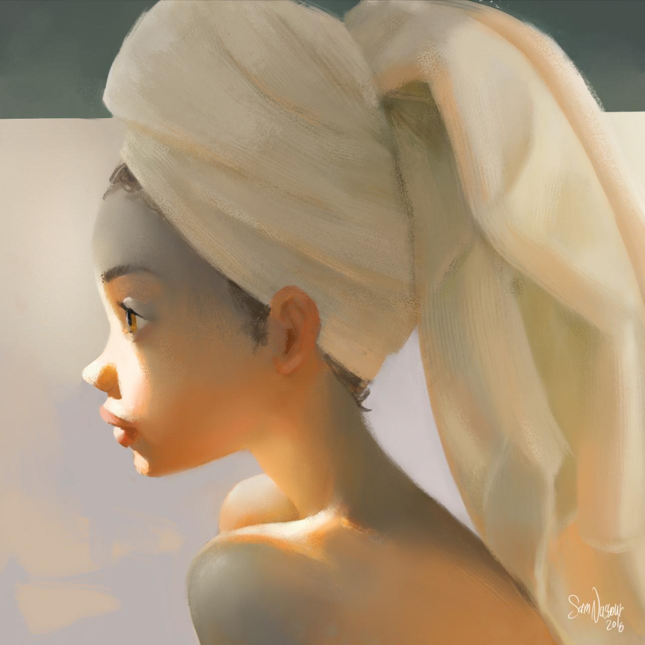 Sam nassour towel