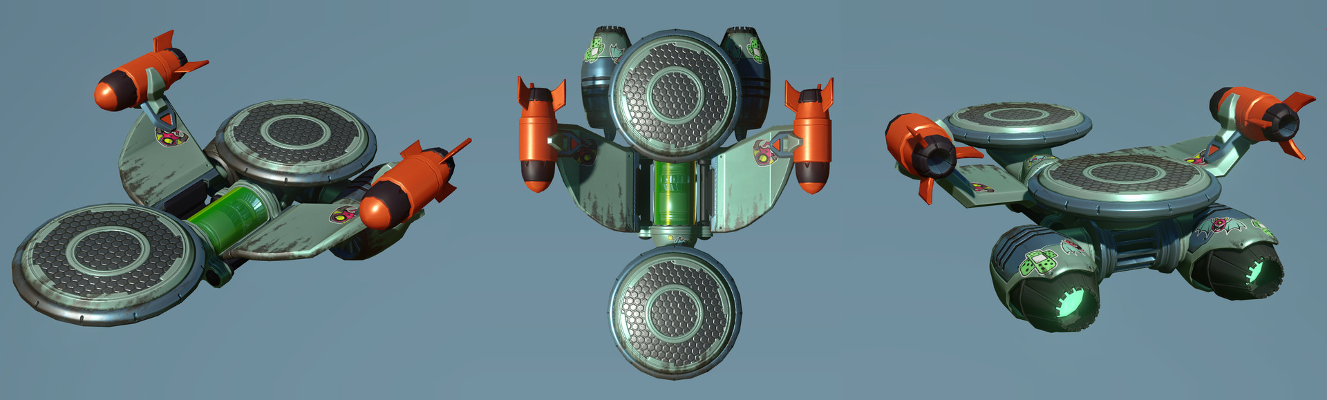 Artstation Ratchet Clank Ps4 Pixelizer Hoverboard Erin Zaneski