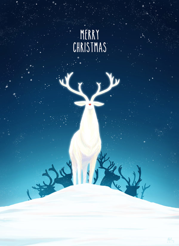 Andrew sebastian kwan the red nosed reindeer by andrewkwan d9ko5sm