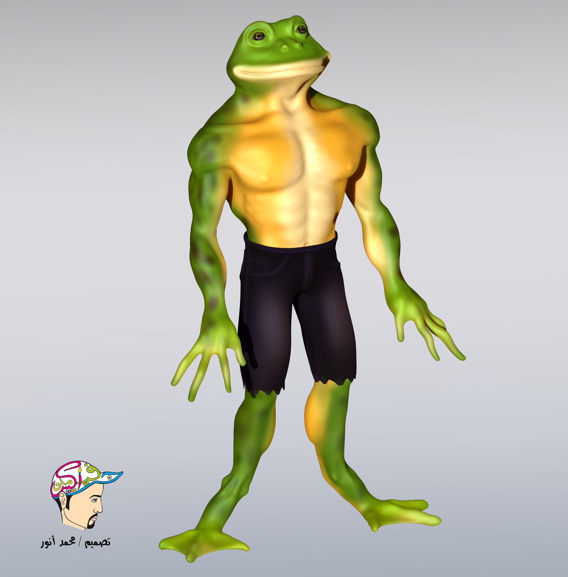 Mohamed Anwar Ninja Frog