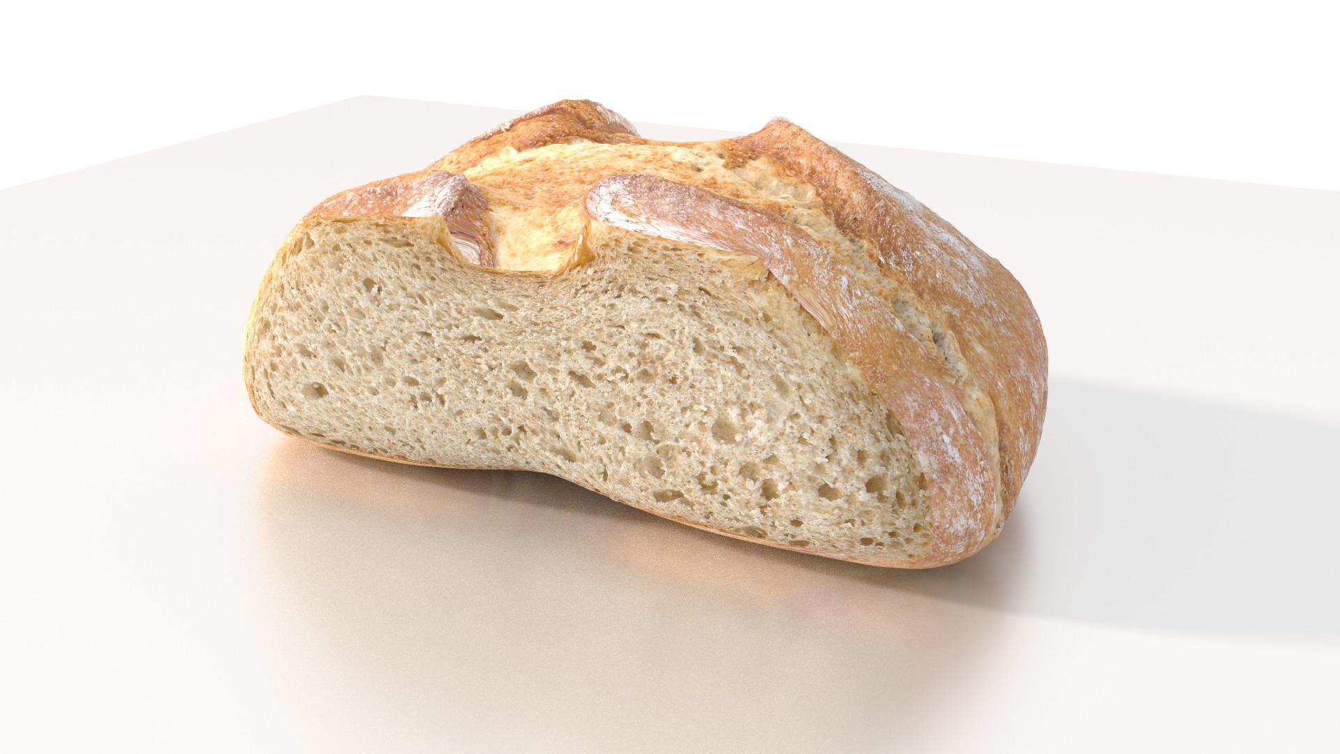ArtStation - Bread texture, Valerio Coppola