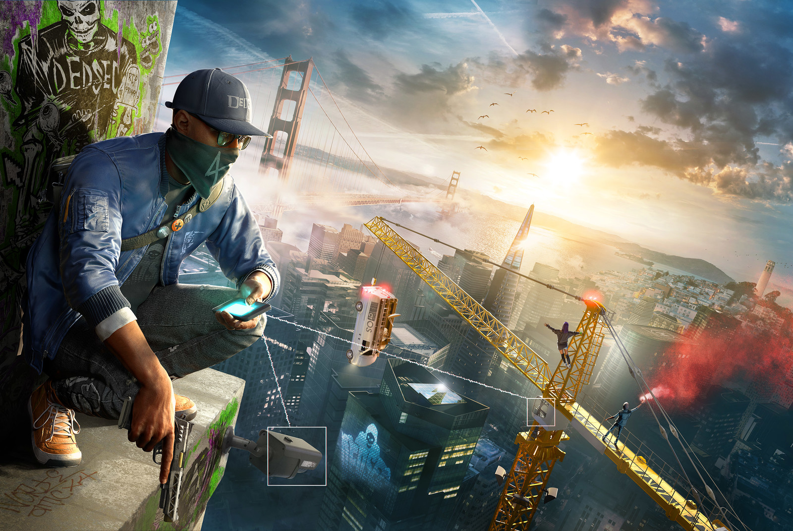 Watchdogs 2: Alternate Keyart