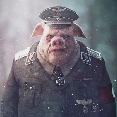 Felipe luiz vieira de andrade uniformed pigs