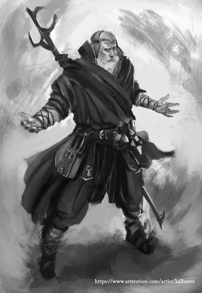 Noob Mage By Joshcorpuz85 Female Druid Witch Sorceress: Wizard Sketch , Mateusz Michalski