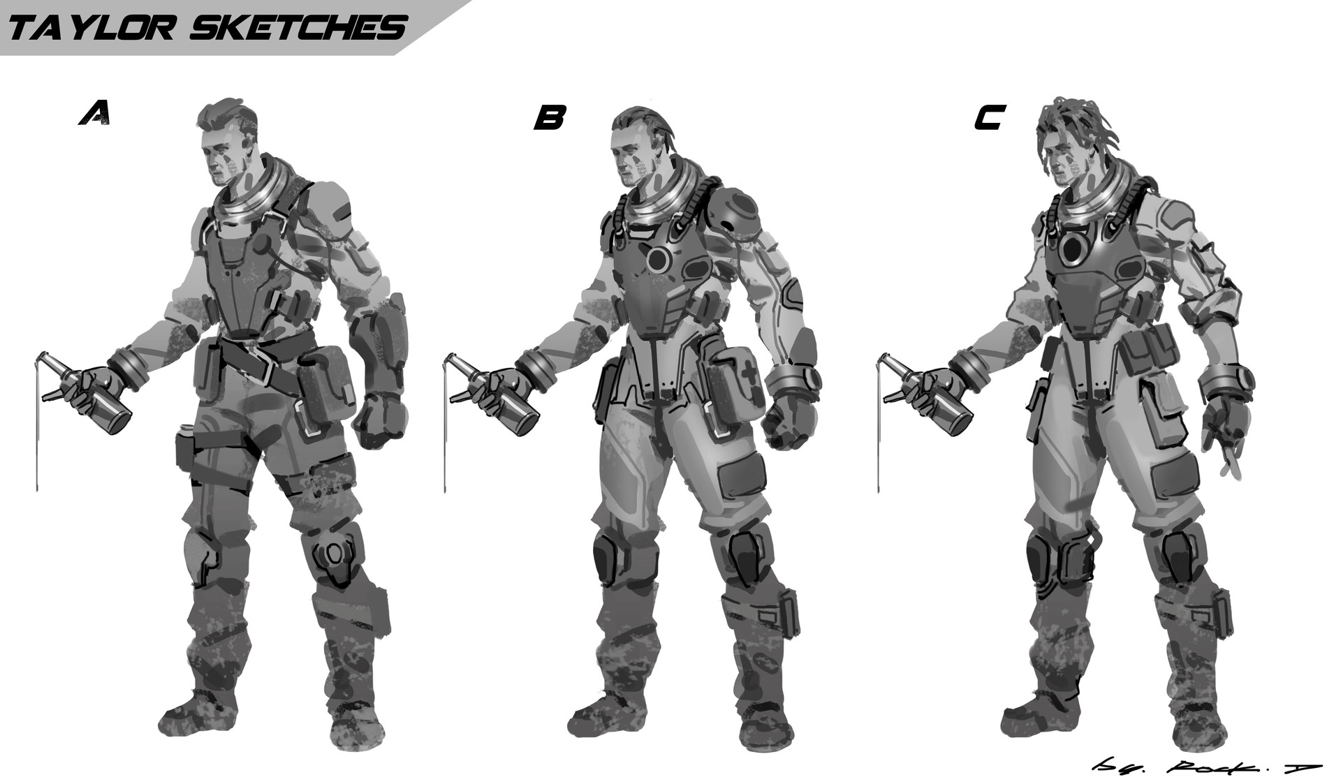 Rock d vincent rough concept