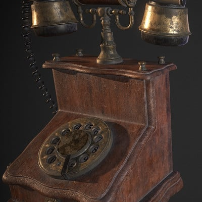 Hugo beyer antiquephone render