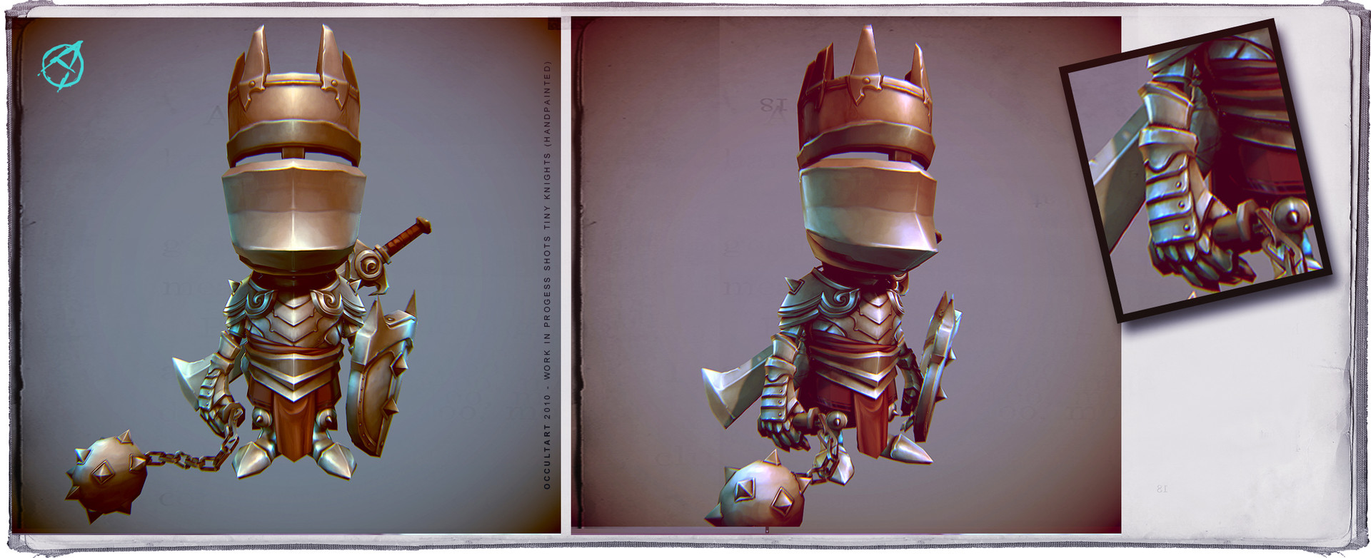 Occultart   tinyknights wip 008