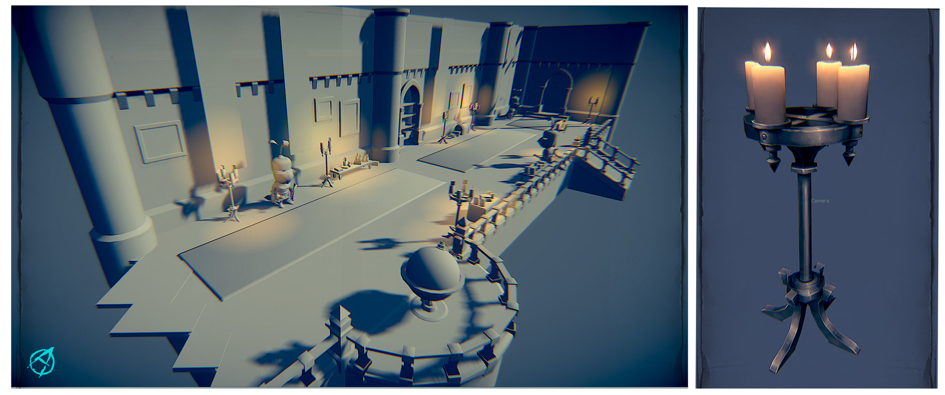 Occultart   castle scene 001
