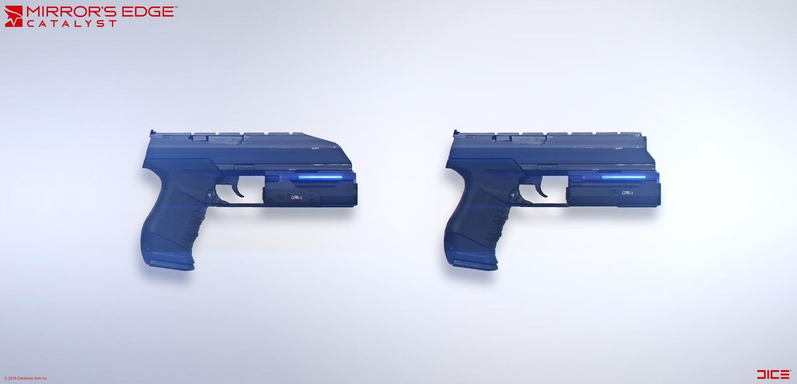 KSEC Gun - Concept Art