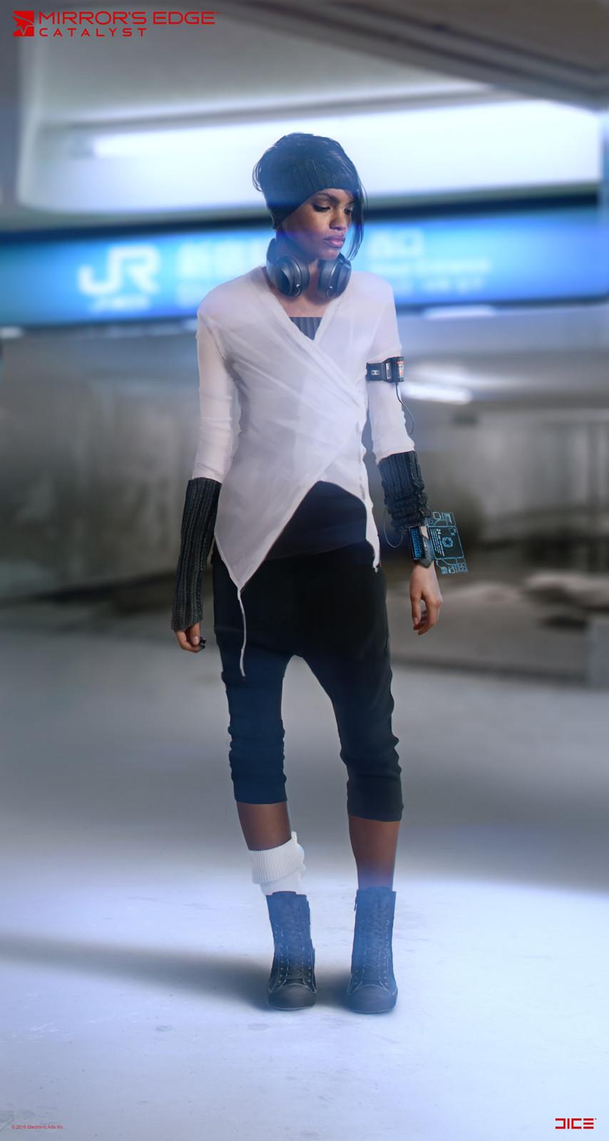 Plastic - Character Concept