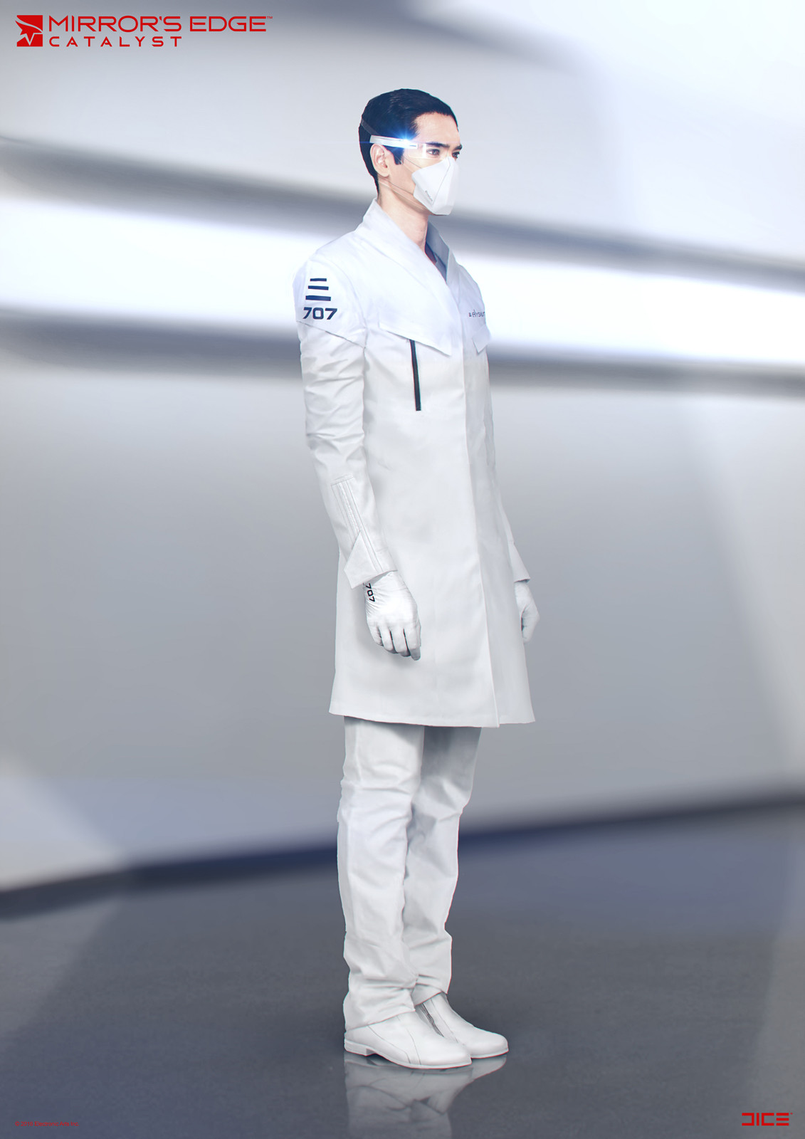 Elysium Scientist - Concept Art