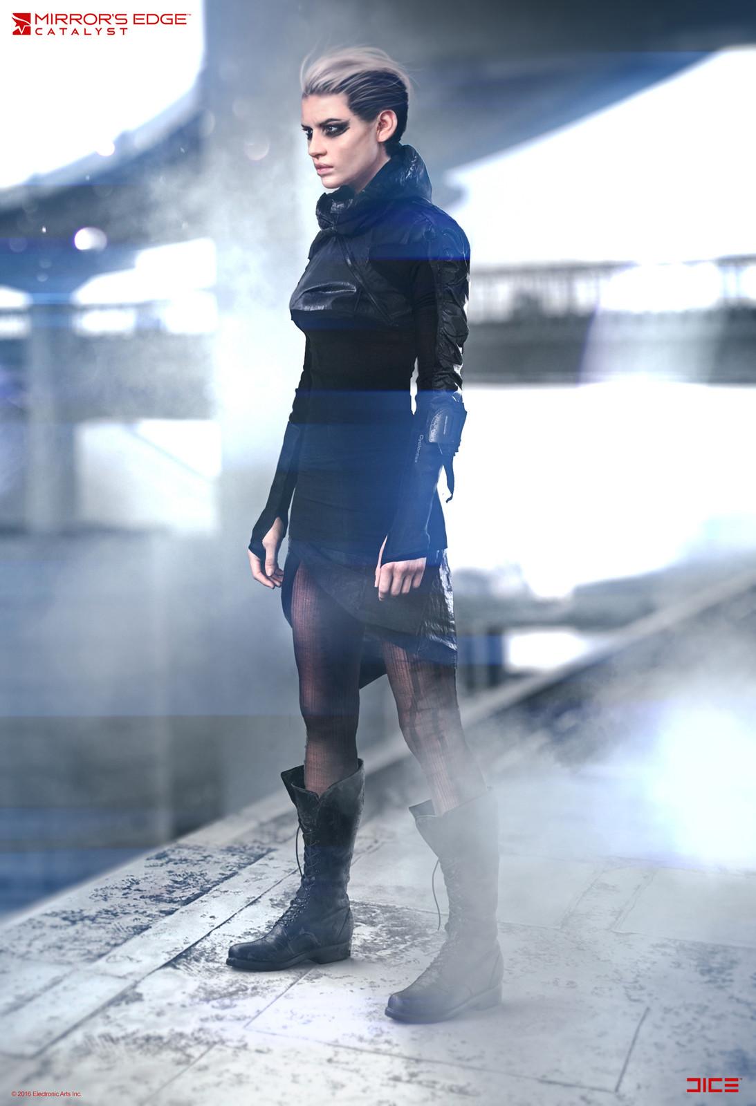 Black November Fighter #3 - Concept Art
