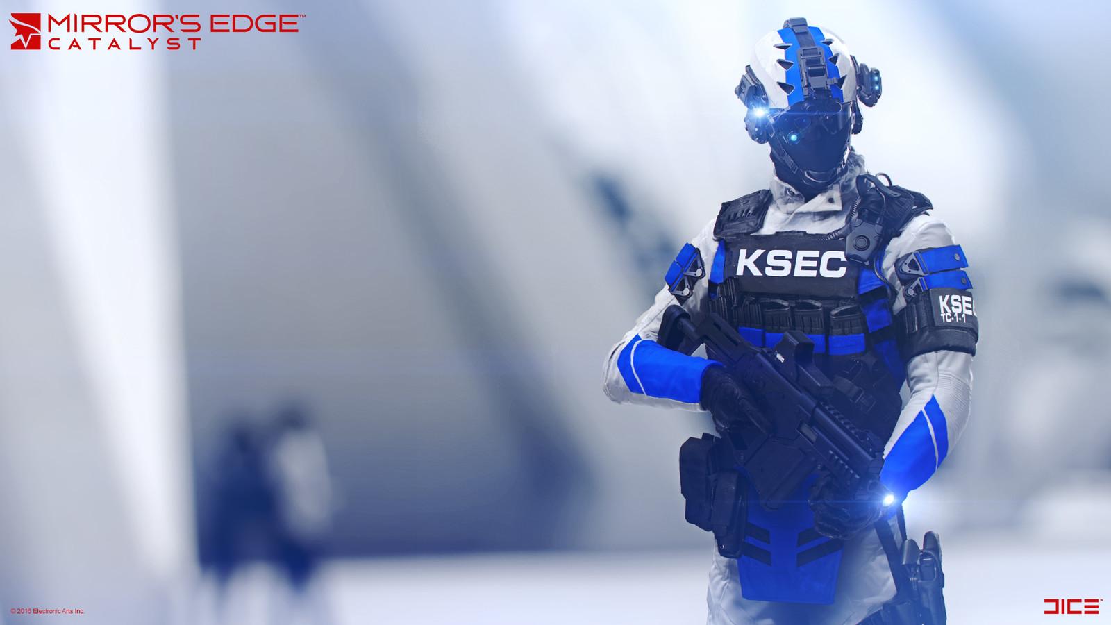 KSEC Enforcer - Concept Art