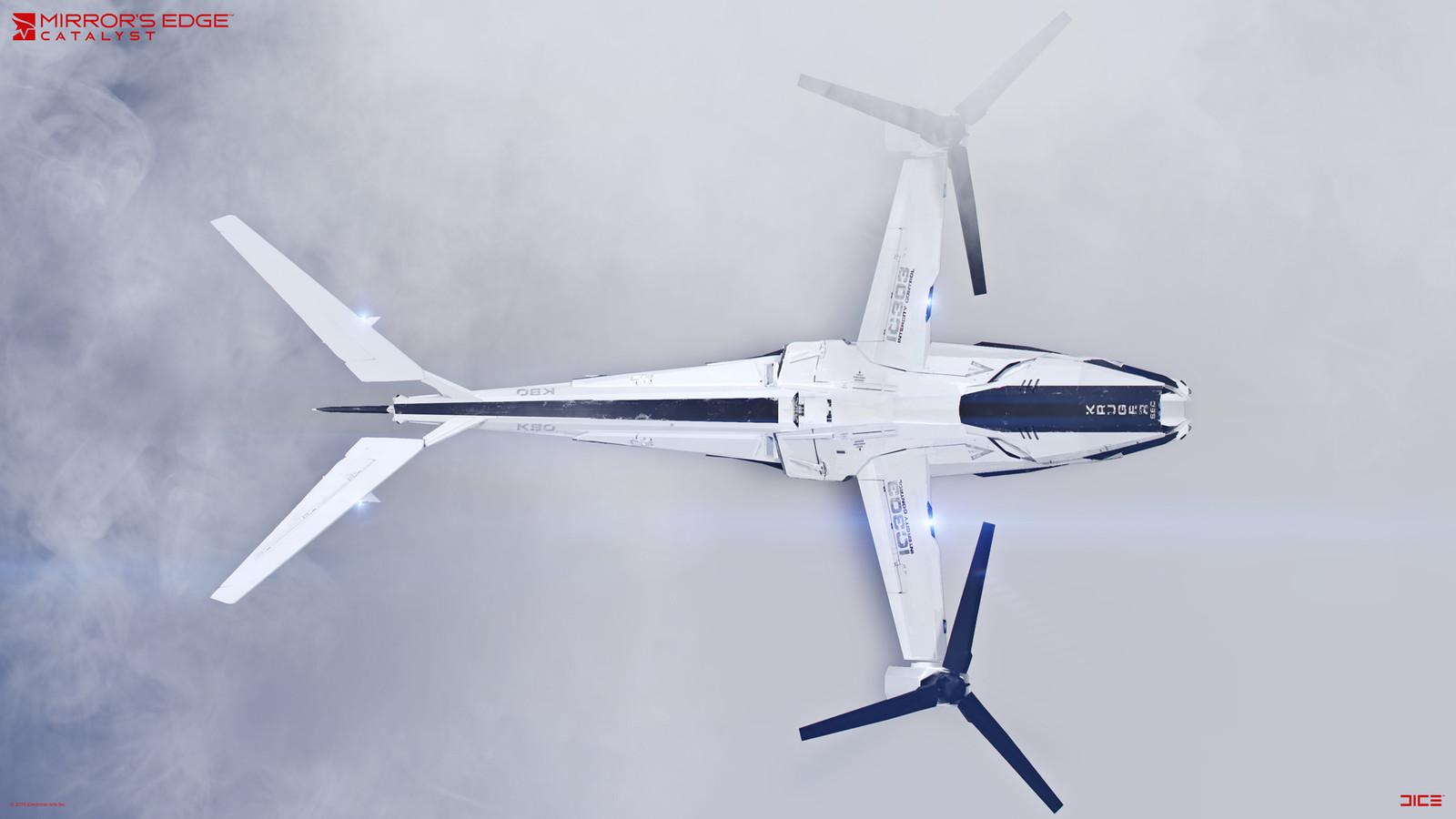 KrugerSec VTOL - Concept Art