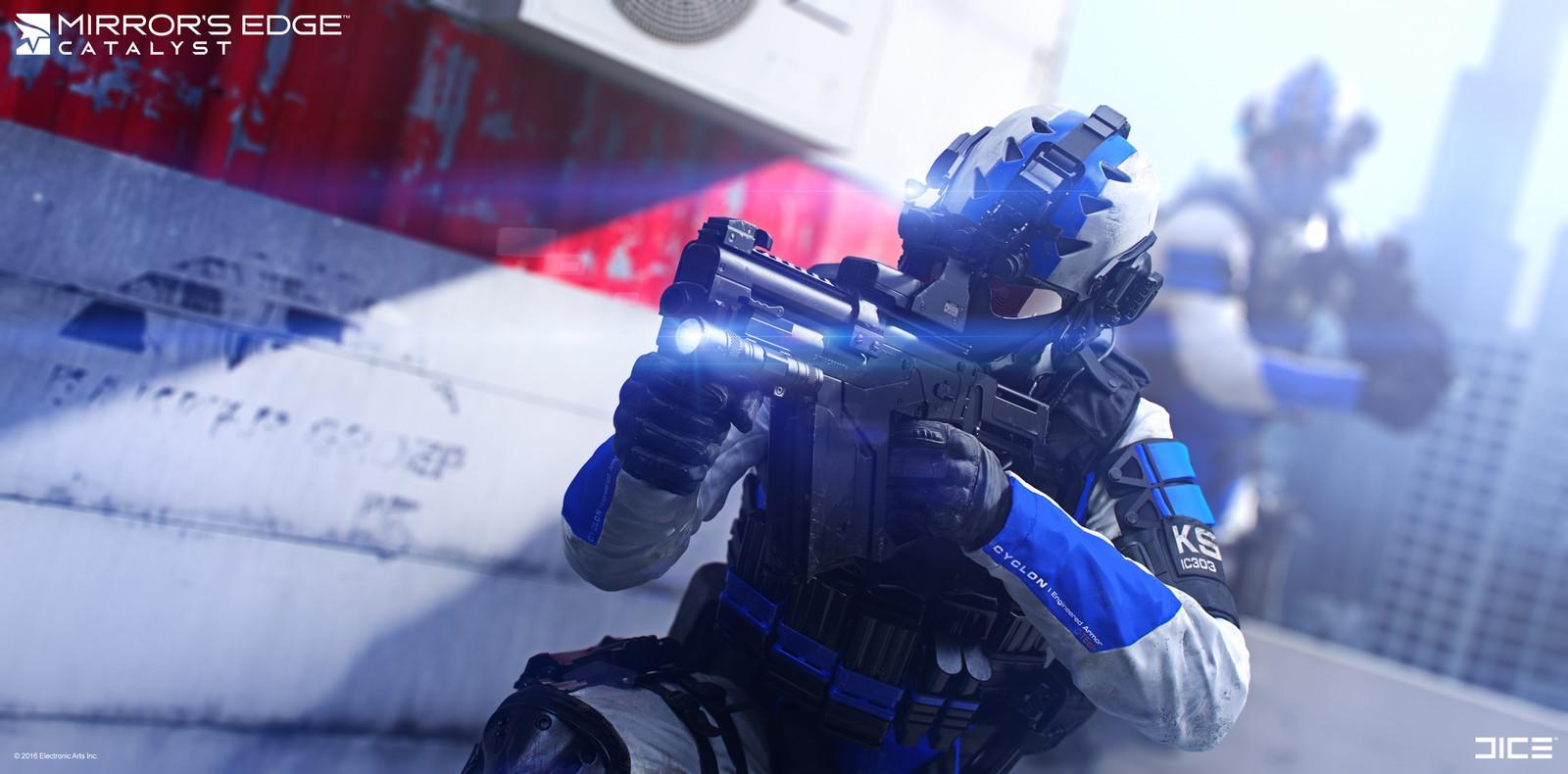 KSEC Enforcer Raid - Concept Art