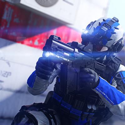 Per haagensen ksec enforcer raid concept