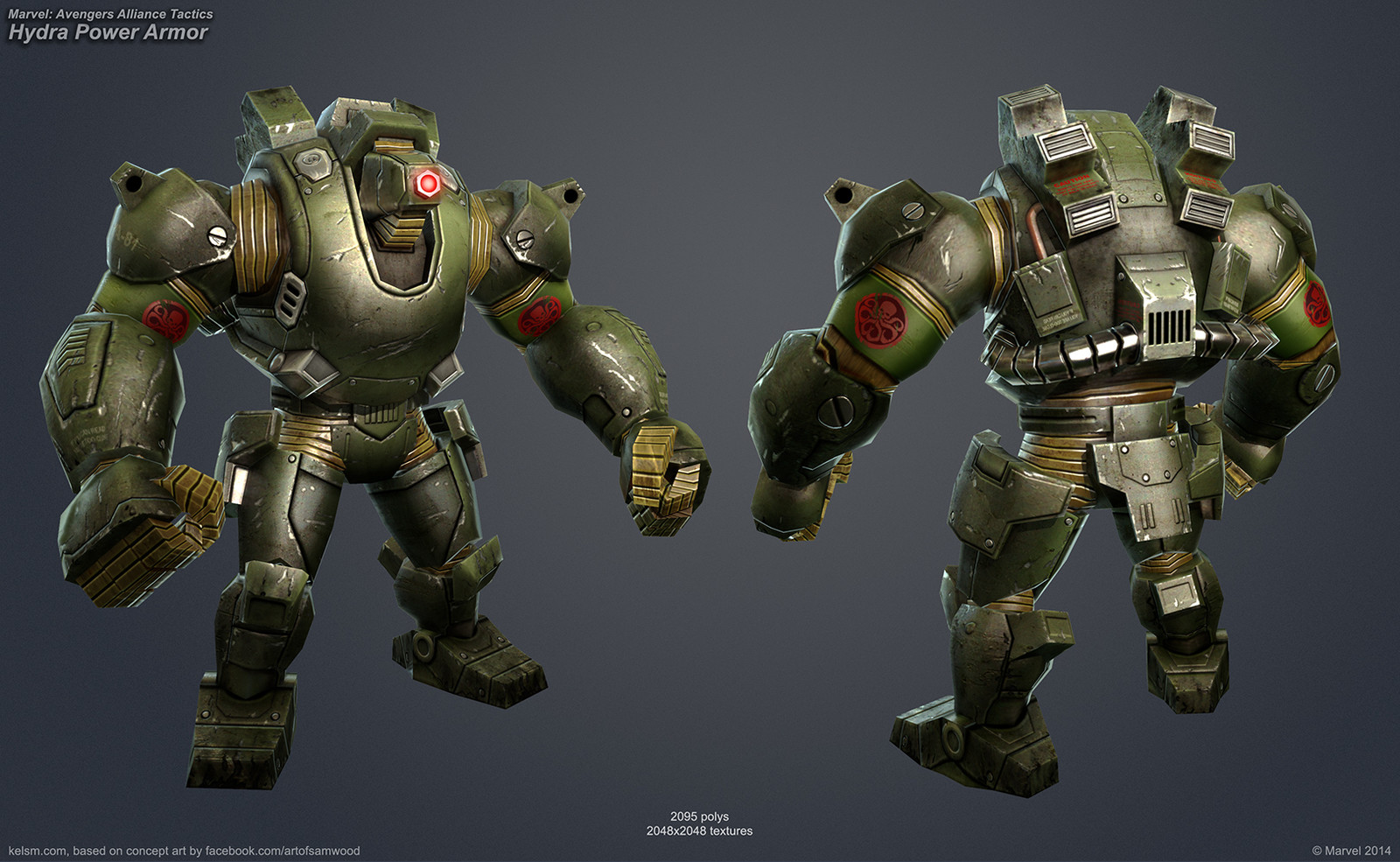 Hydra Power Armor