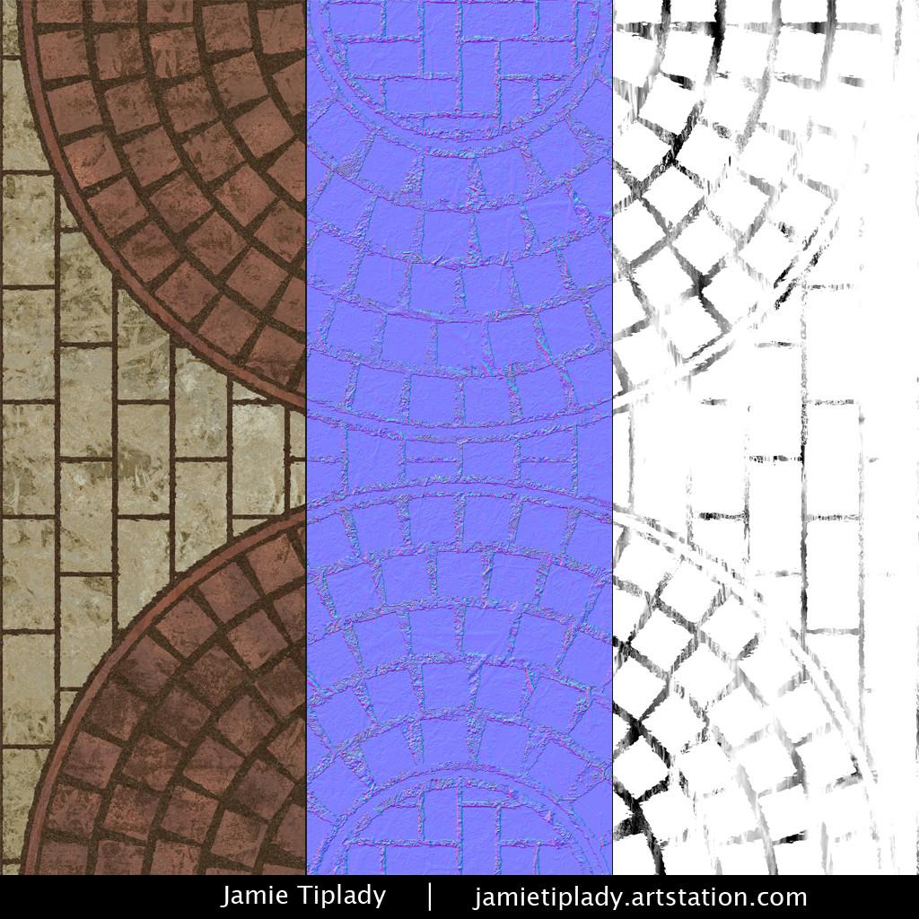 Jamie tiplady fannedbricks texmaps 1024