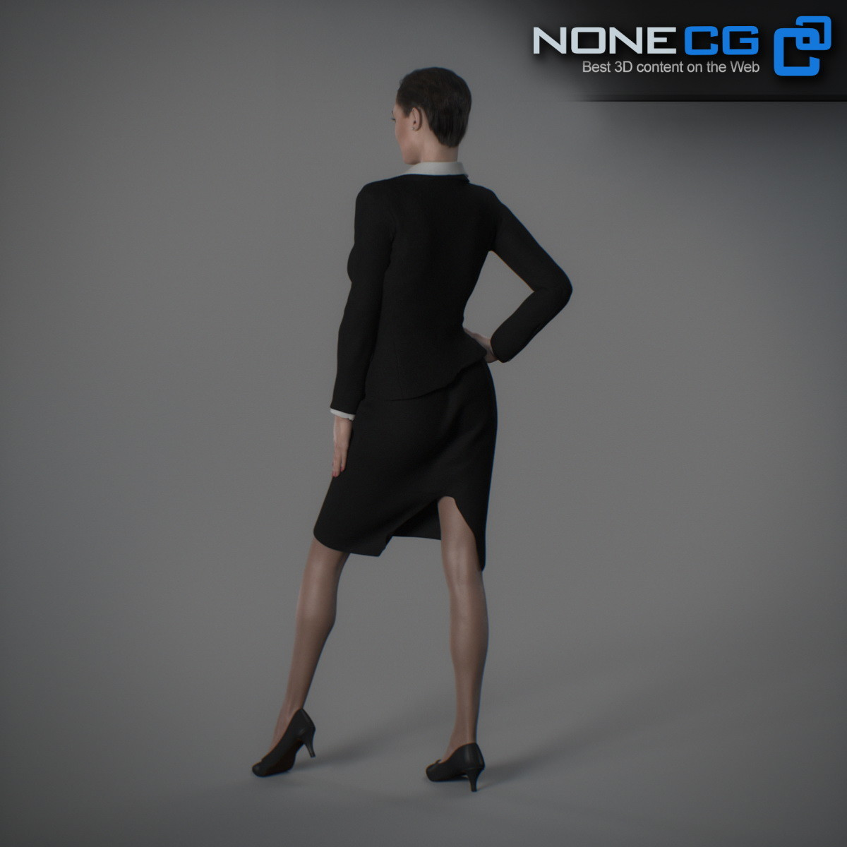 RIGGED ADULT FEMALE CHARACTER