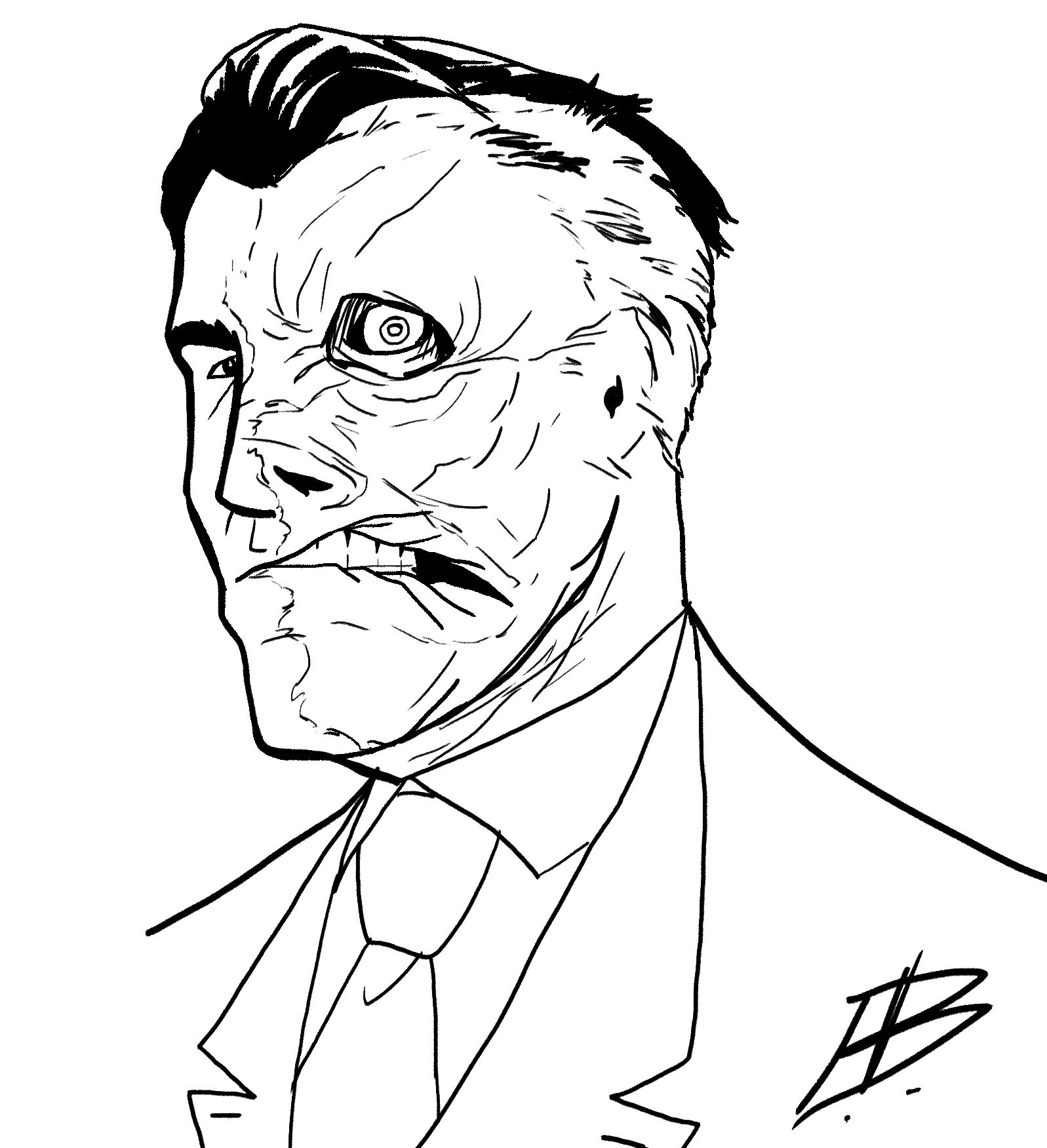 Elliot balson two face