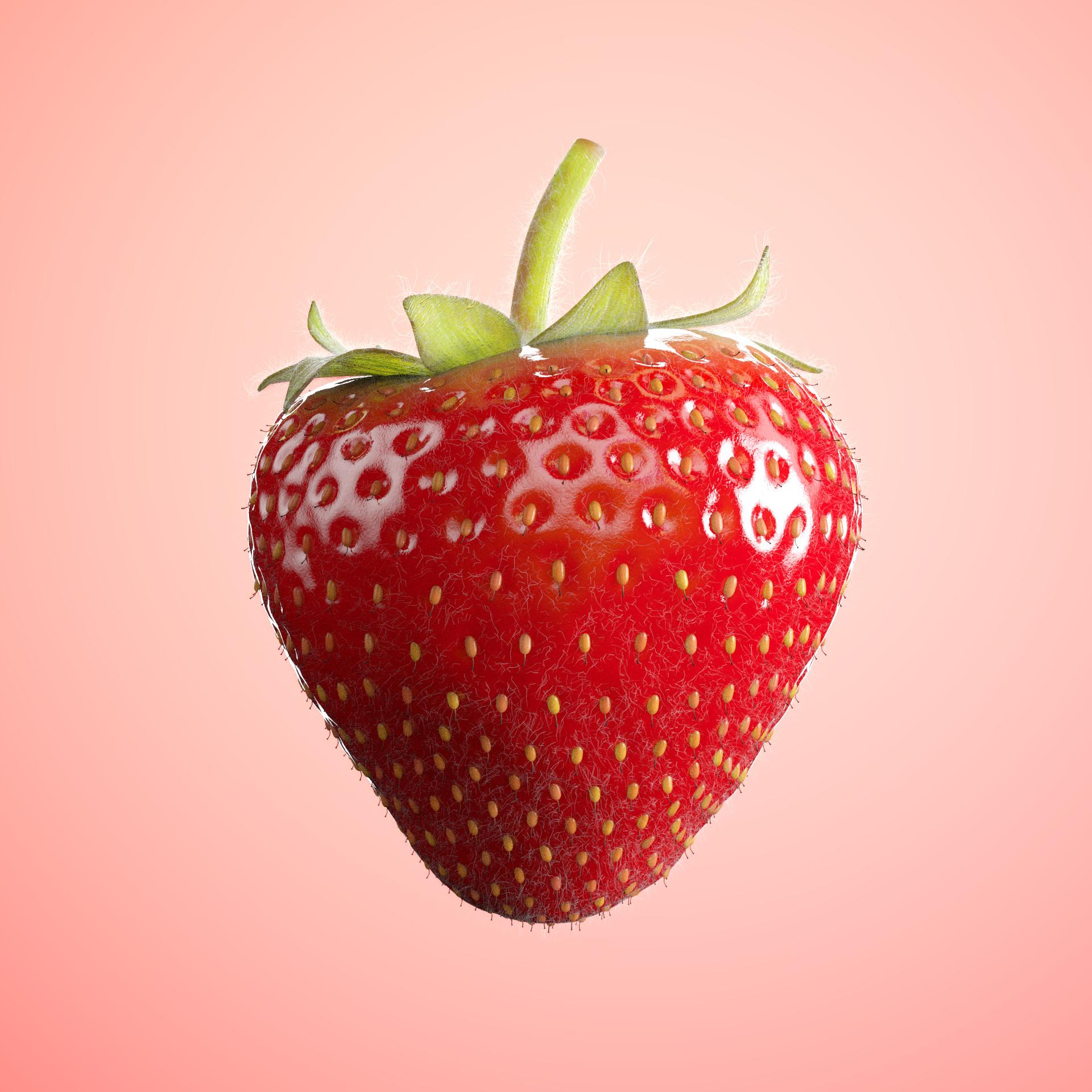 Fabian d abundo strawberry render