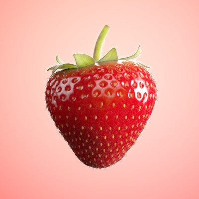 Fabian d abundo strawberry render