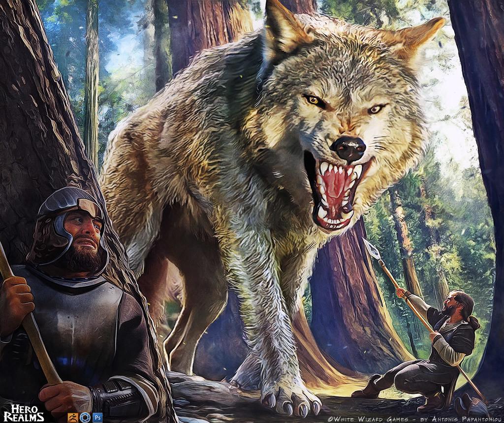 Antonis papantoniou dire wolf 1