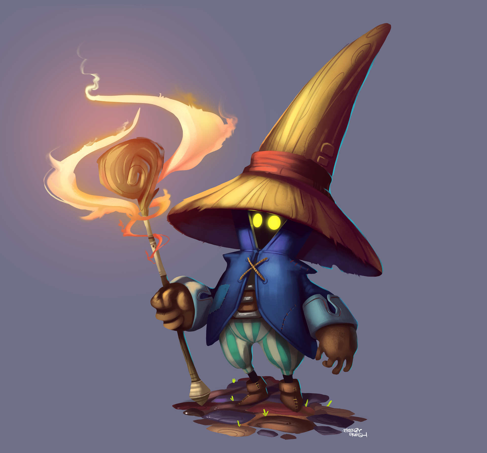"""Vivi Orunitia Fan Art"""