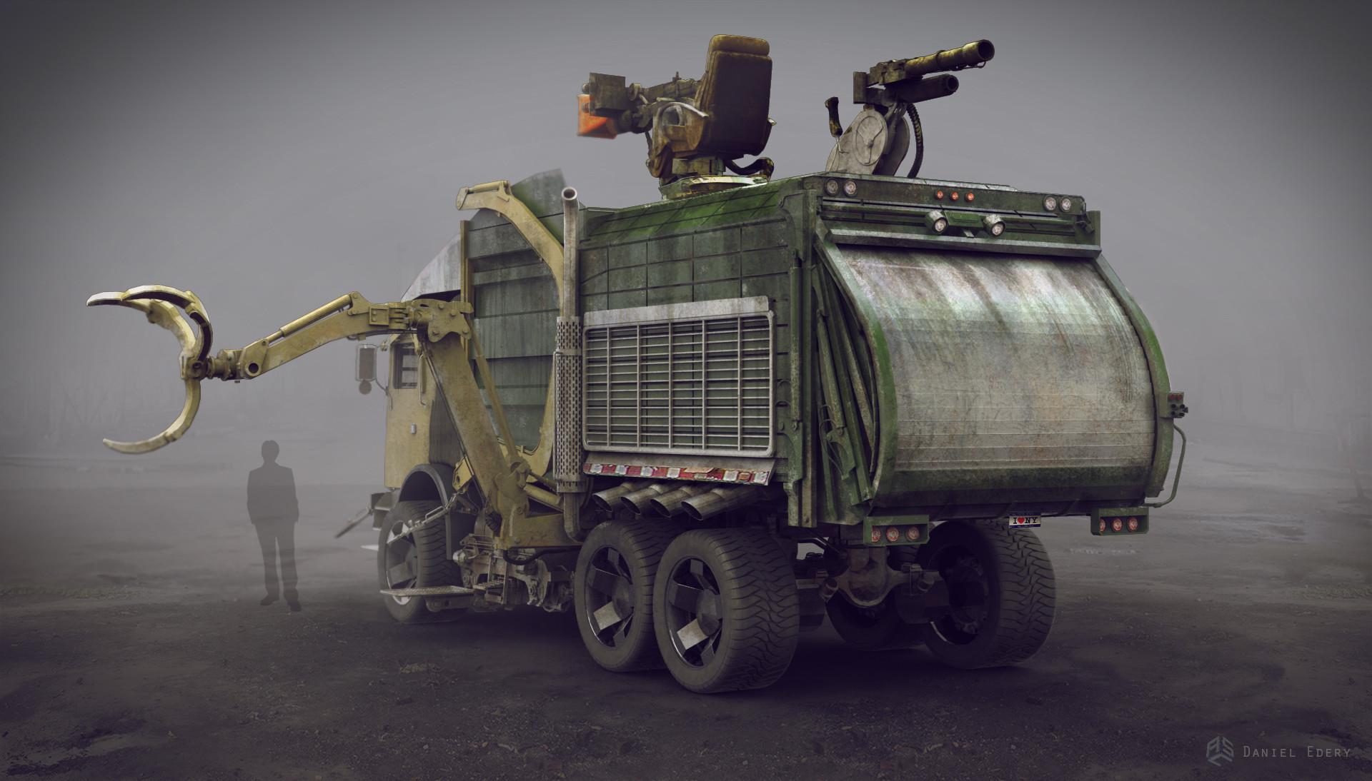 Turtle Truck Rear
