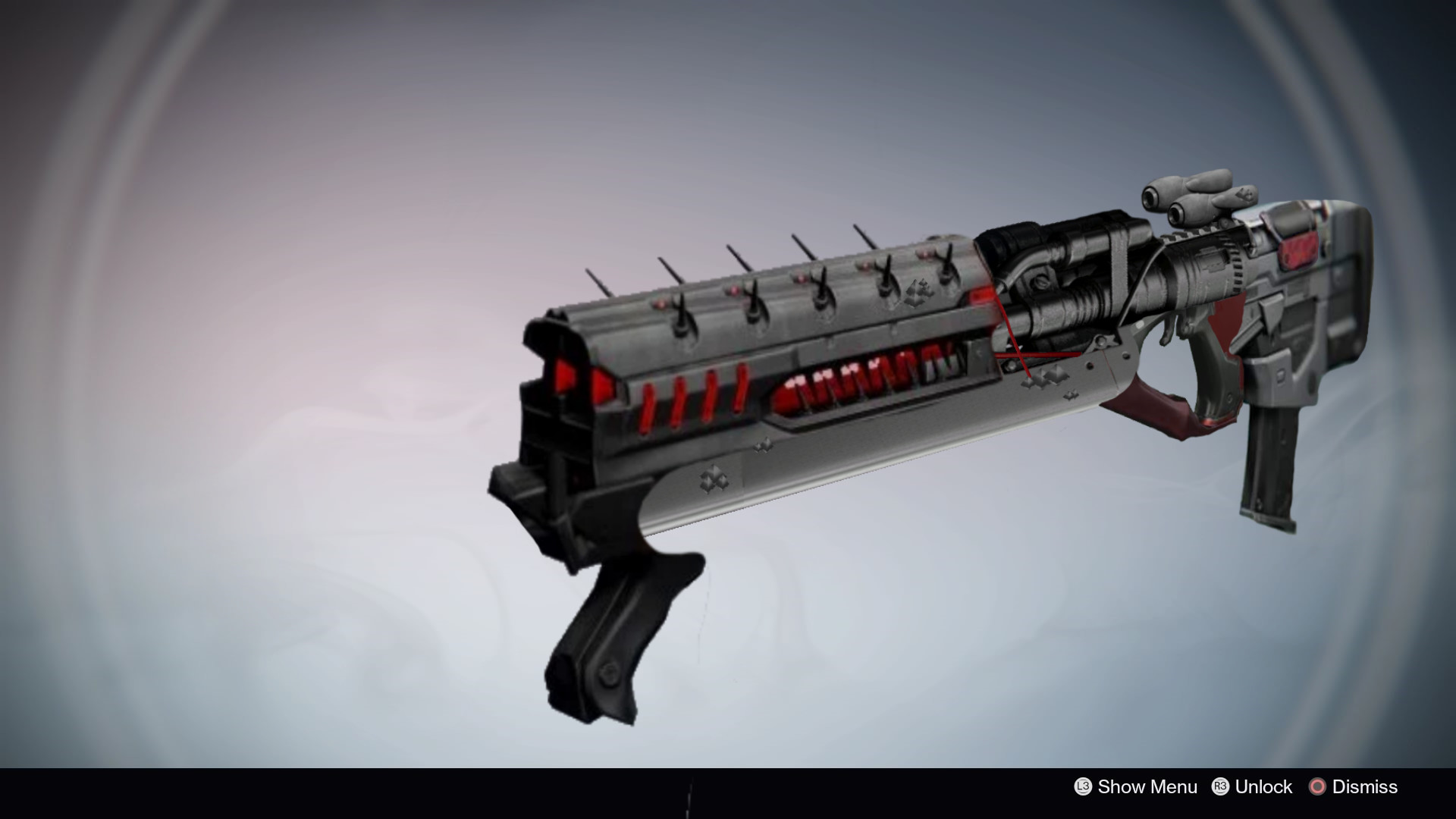 Artstation Rise Of Iron Exotic Fusion Rifle The Machine God