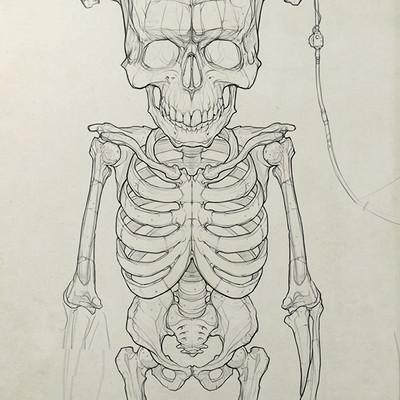 Occultart   cartoon frankenstein 002