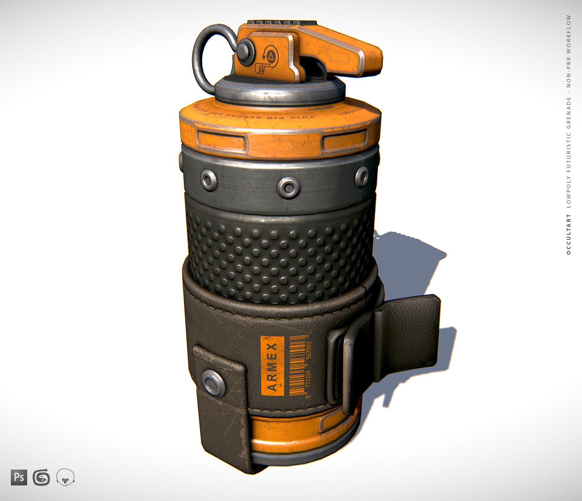 Occultart   grenade 01