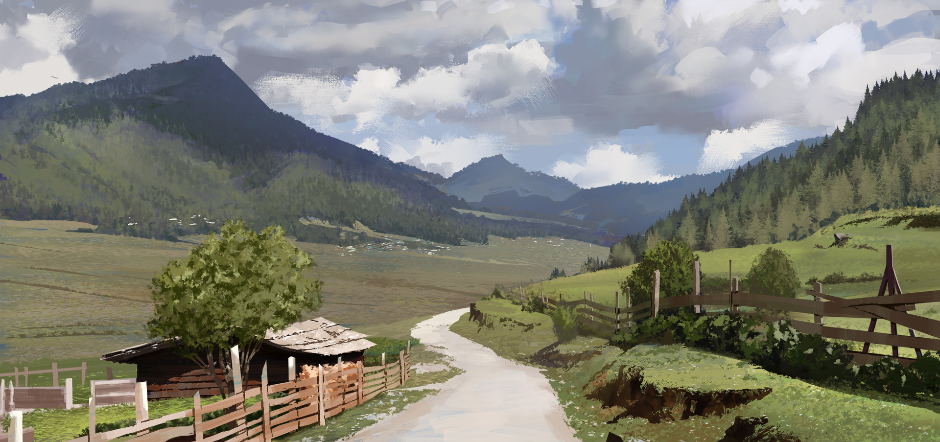 Jack eaves virtual pleinair 02 bhutan