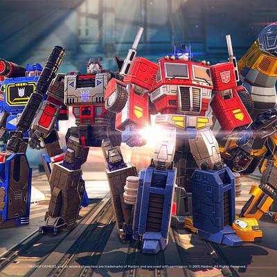 Space ape games transformers earth wars troop line up