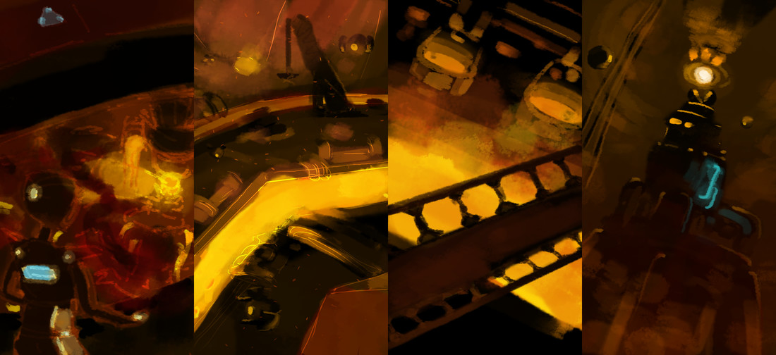 Early foundry concepts.