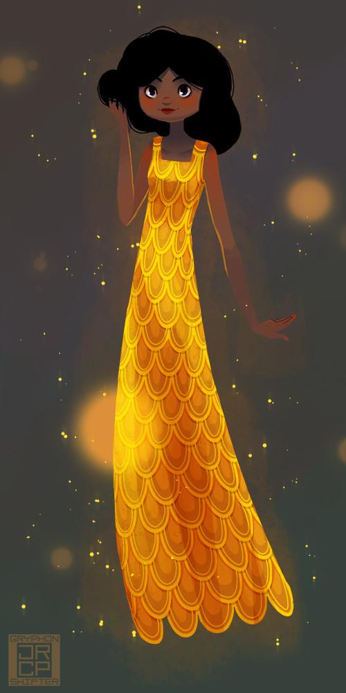 A goldfish dress.