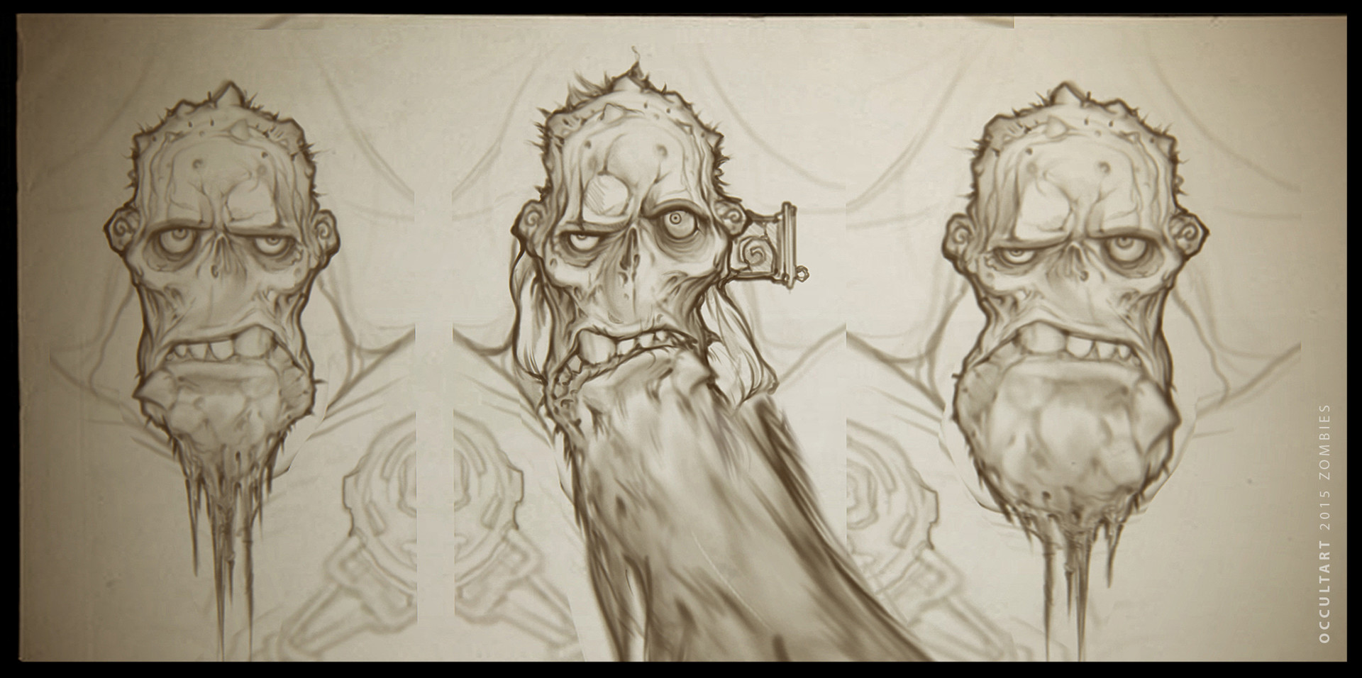 Occultart   zombies sketches a01 003