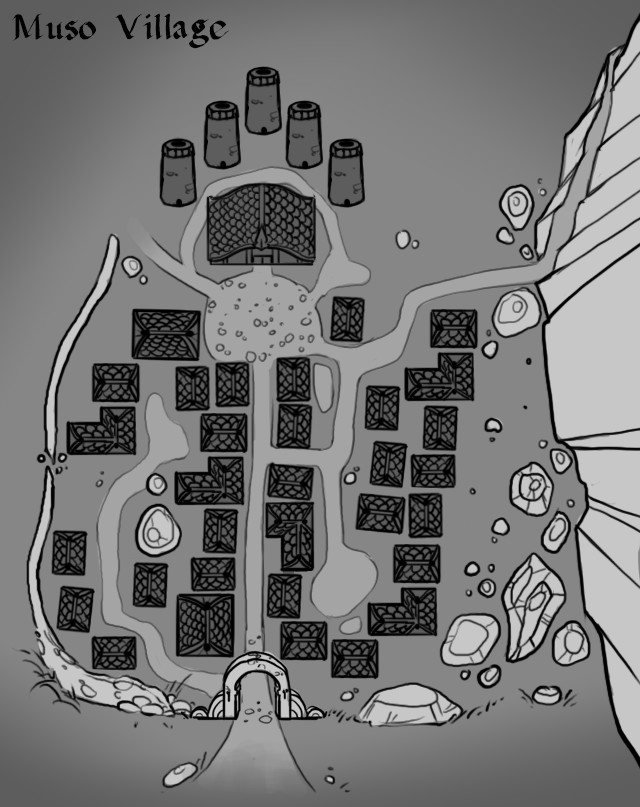 Farming Village Muso map.