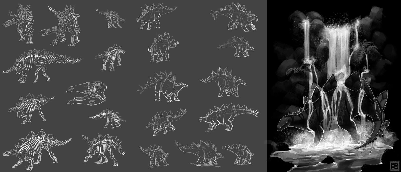 5: Stegosaurus