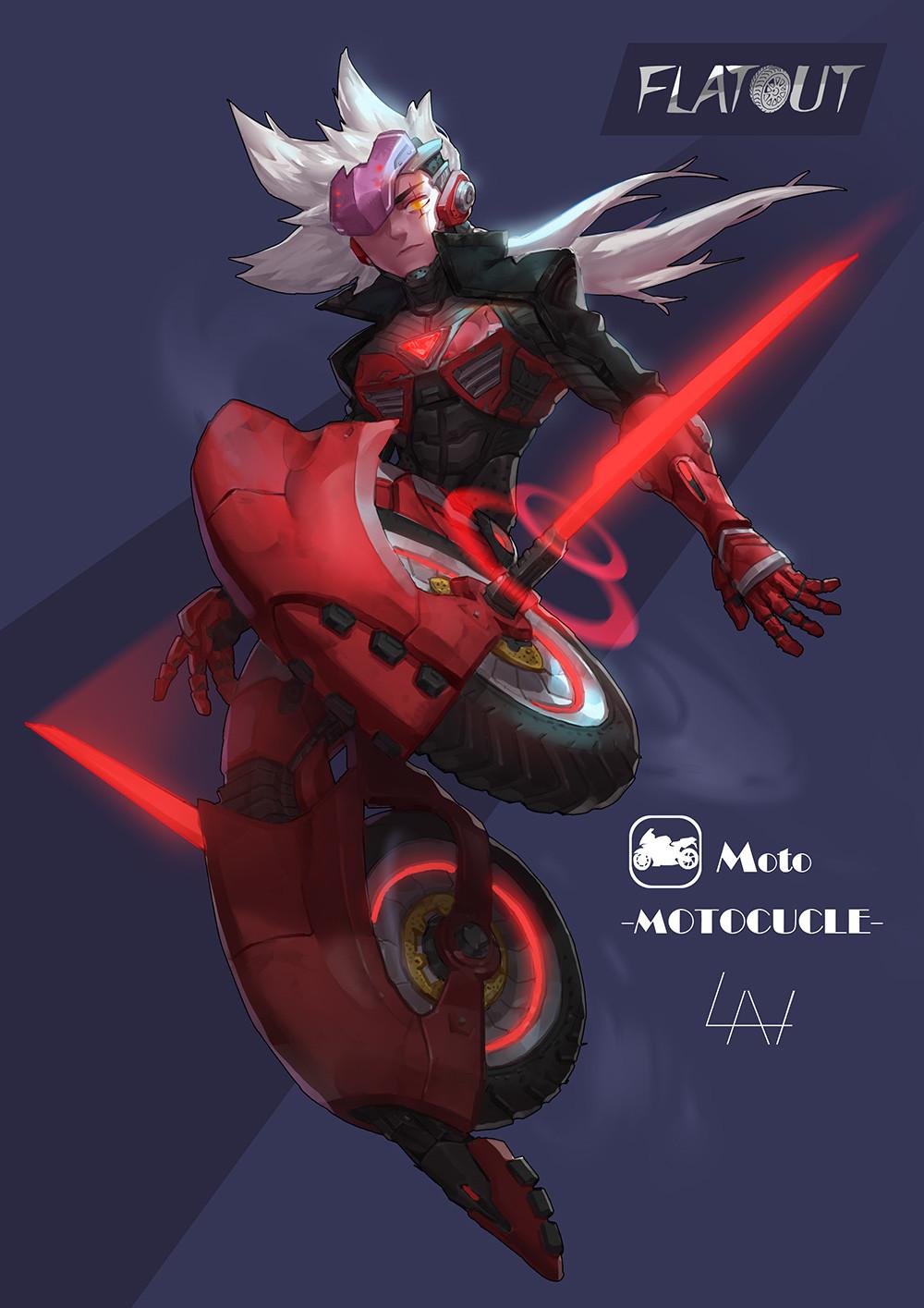 Yuan lan moto10