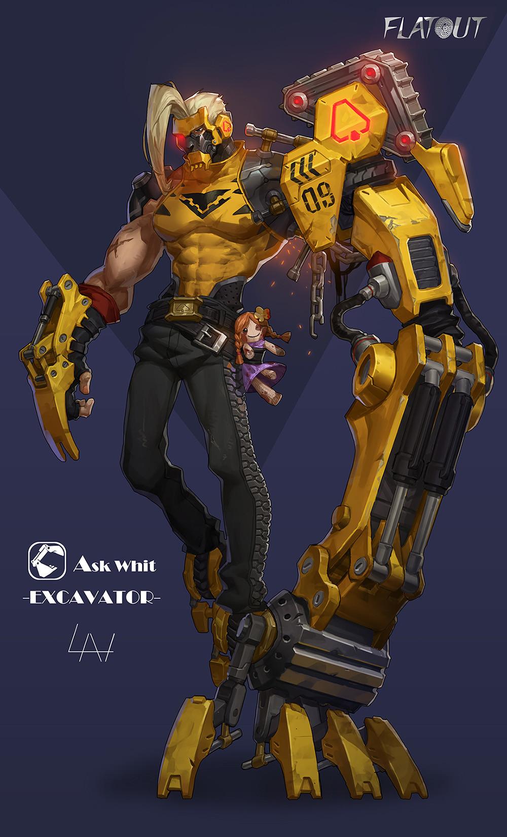 Yuan lan excavator fallout10
