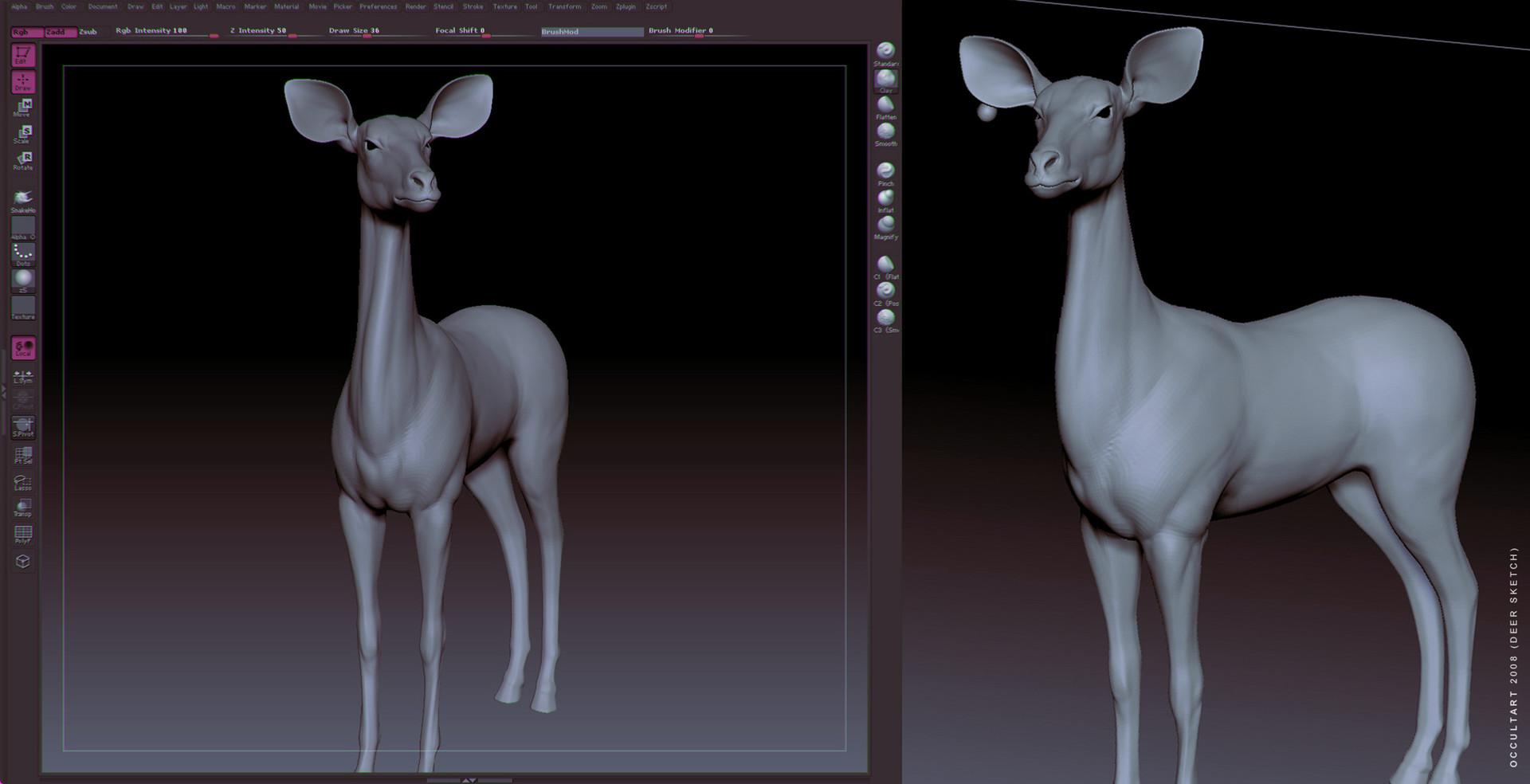 Occultart   deer 004