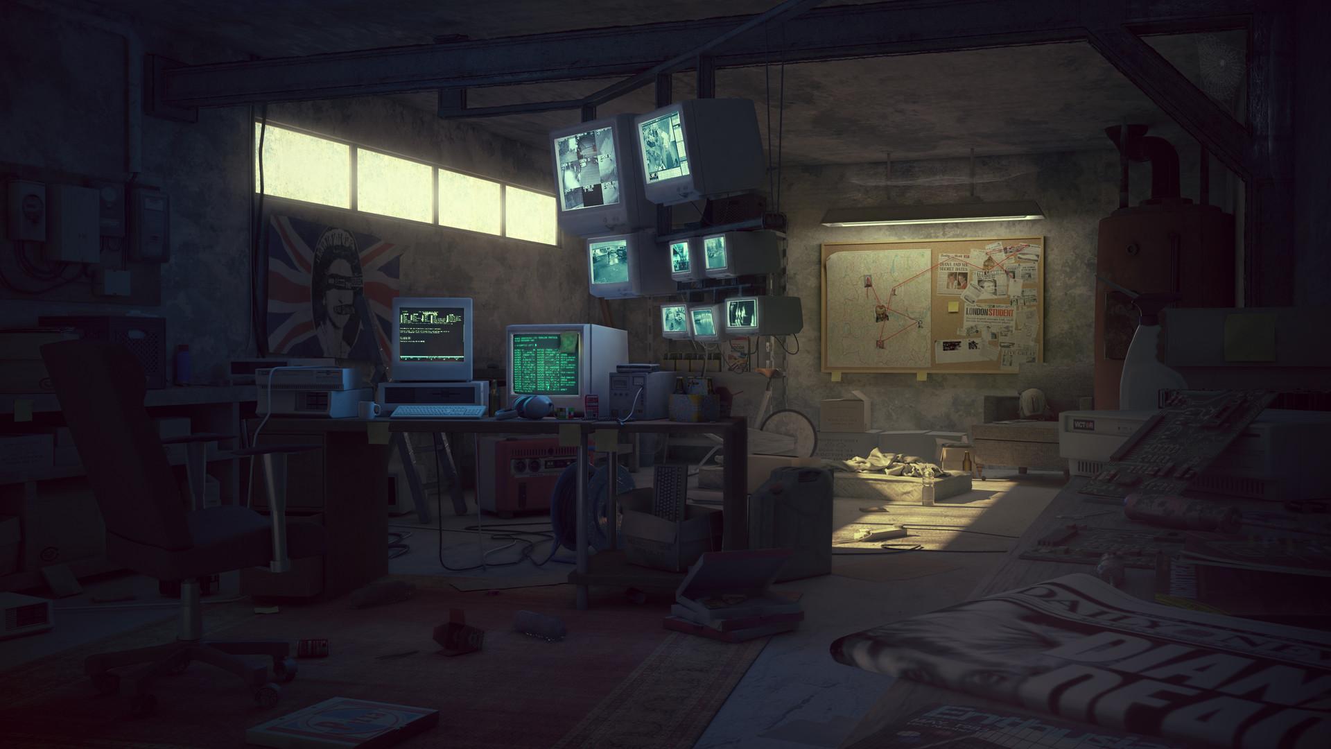 Bouriaud Louis Hacker Room