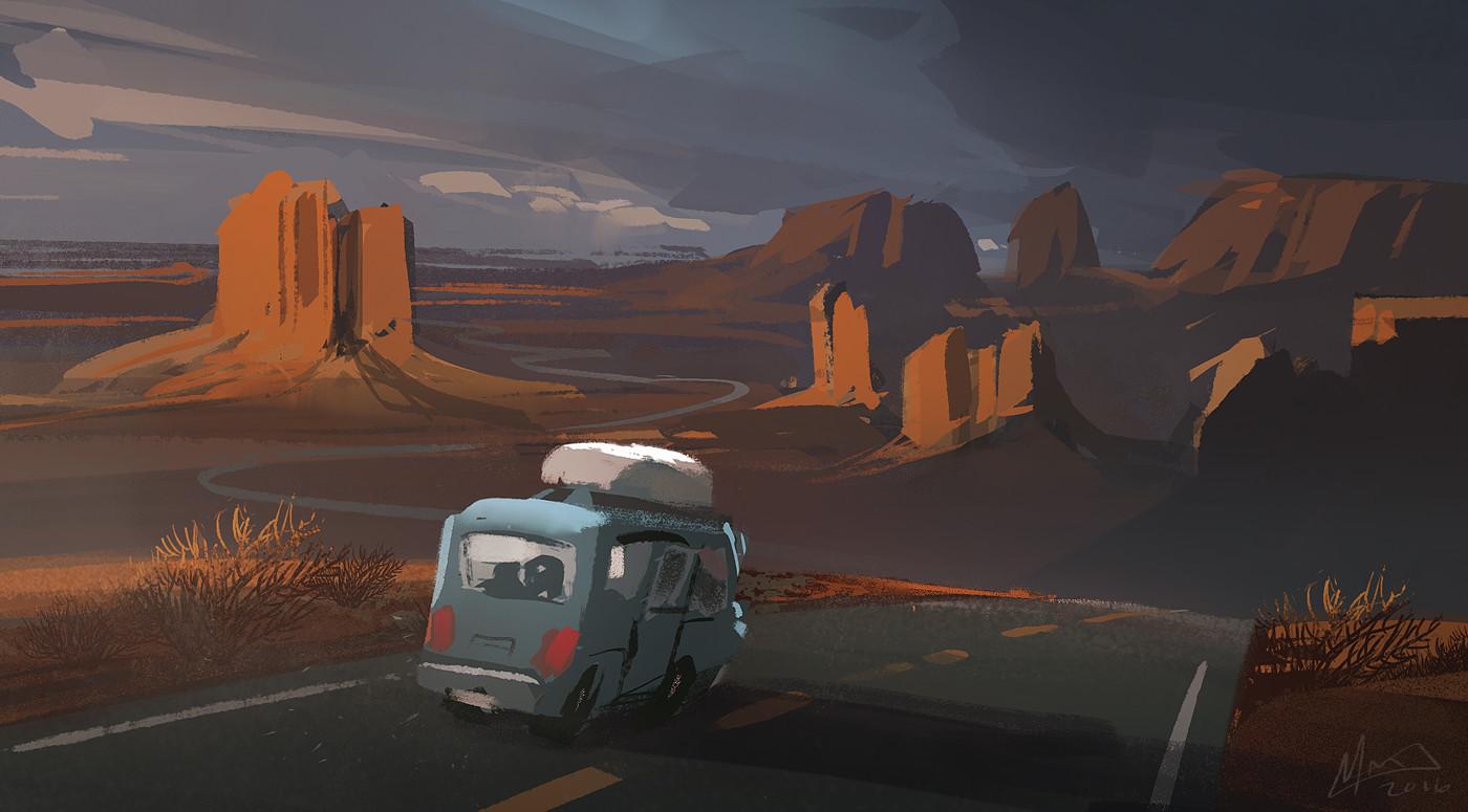 Mike mccain road trip